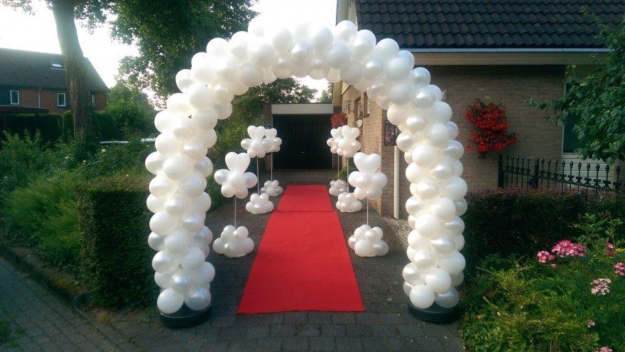 Ongebruikt Huwelijk - Stef-Ballondecoraties.nl FT-59